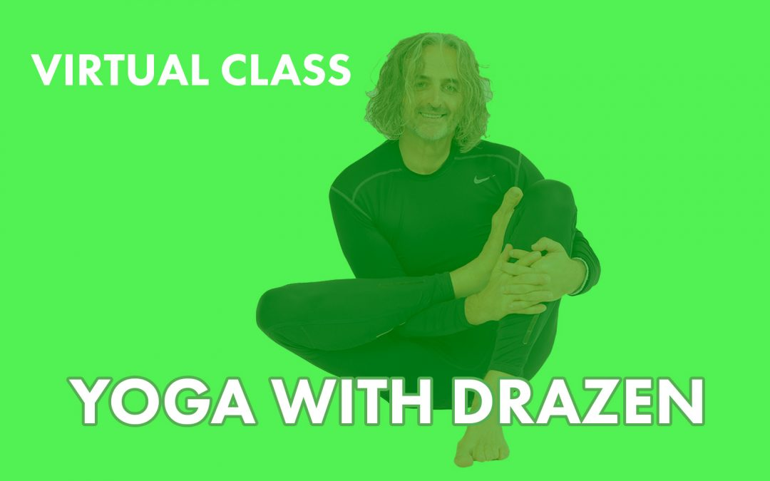 Virtual yoga class – Yoga with Drazen